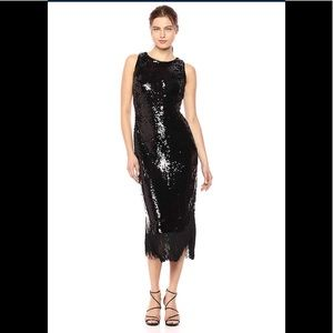 RACHEL Rachel Roy,Women's Lea Dress,Black,NWT
